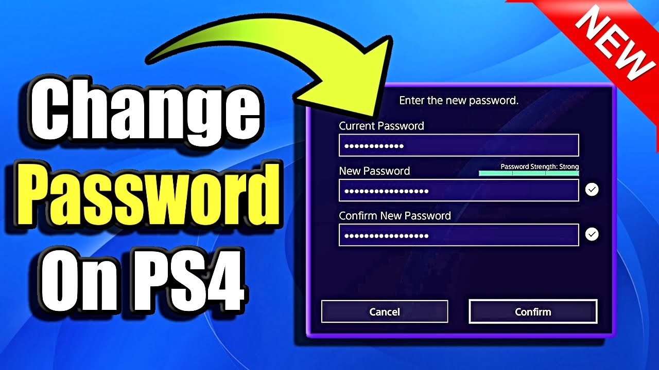 How to Reset Your PlayStation Password