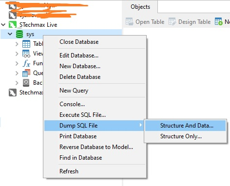 How to Migrate MySQL database to another